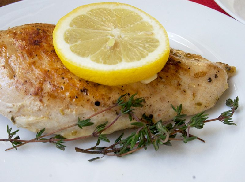 Picture of Lemon Chicken from the recipe blog on the Healthy Eats Page of the San Francisco Scenic Fit outdoor fitness training groups website