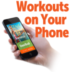 Picture of Scenic Fit's Ocean Beach workout on a phone