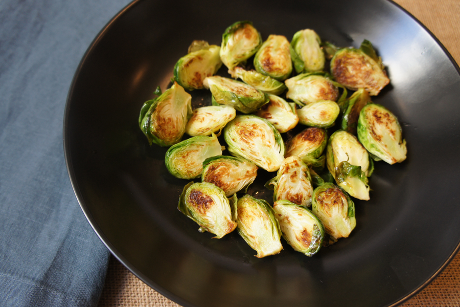 Picture of Healthy Suateed Brussels Sprouts with Apple Cider Vinegar from the recipe blog on the Healthy Eats Page of the San Francisco Scenic Fit outdoor fitness training groups website