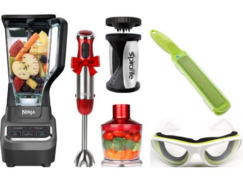 Picture of useful kitchen gadgets on the Scenic Fit blog